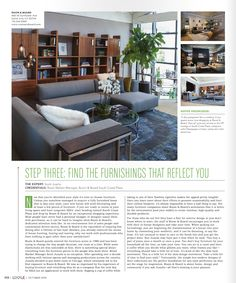 Our Santa Ana loction and Retail Market Manager Scott Jussila are featured in Locale's October issue!