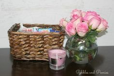 Put together a healing basket for those times when kids need an extra special touch for those ouchies.