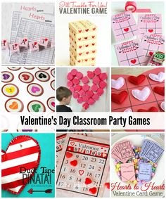 Valentine's Day Classroom Party Games - The Idea Room