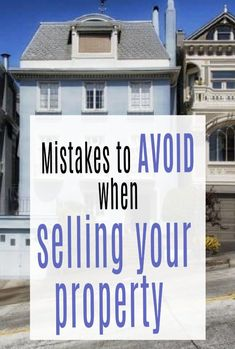 Avoid, avoid, avoid making these mistakes when it comes to selling your home! House sales go so much smoother if you are mindful of what not to do.  #movinghouse #housesale #realestate #property #abeautifulspace Bad Photos, Amazing Transformations, Moving Tips, Selling Your House, Moving House, House Sales, How To Level Ground, Home Hacks, House Prices