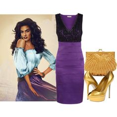 """Shimmying Into Friday"" by ritaannesmith on Polyvore"