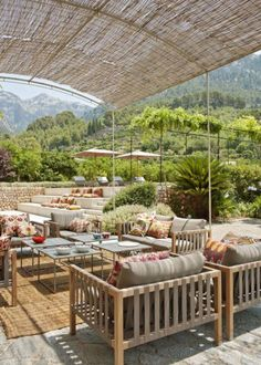 Malerische Terrasse