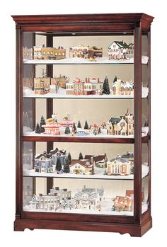 Howard Miller 680-235 Townsend Curio Cabinet