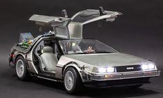 BLOG DOS BRINQUEDOS: DeLorean Hot Toys Sixth Scale Figure
