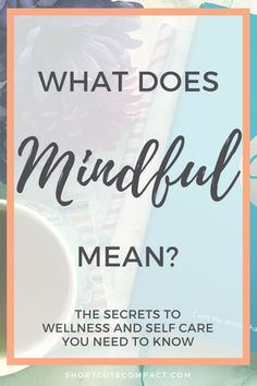 What is Mindfulness and What does it mean? The secrets to wellness and self care you need to know via @BryJaimea