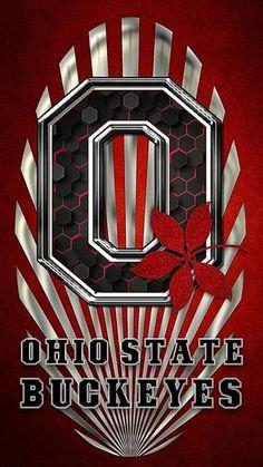 Buckeyes Football, Ohio State Football, Ohio State Buckeyes, Phone Backgrounds, Iphone Wallpaper, Ohio State Wallpaper, Draw, Number, Logo