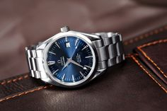The other most beautiful Seamaster? (the blue Aqua Terra 2500 pictures I promised)