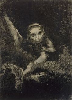 Odilon Redon - Caliban, 1881