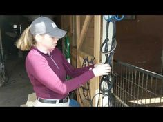 How to figure 8 a snaffle bridle - keep your tack room tidy!  https://www.youtube.com/watch?v=23bZreNFpyo