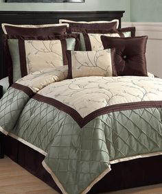 Sage Alexandria Comforter Set | Daily deals for moms, babies and kids
