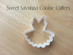 Ballerina Tutu Cookie Cutter by SweetSavannaCookies on Etsy https://www.etsy.com/listing/196299476/ballerina-tutu-cookie-cutter