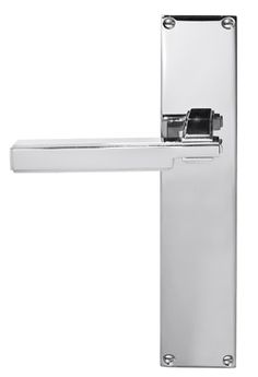 SK/1012 Deco Style Lever on Long Plate