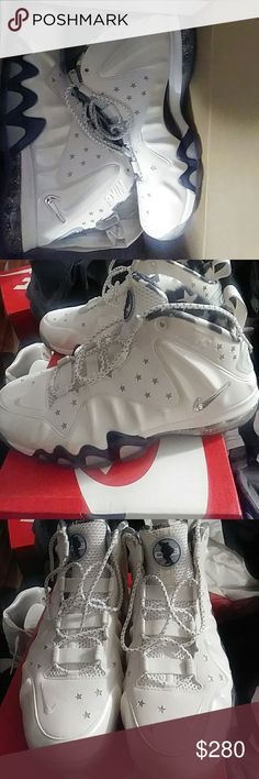Nike barkley Comes with original box...worn once. In excellent condition Nike Shoes Sneakers