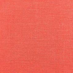 Coral Irish Linen Fabric Curtain Fabric, Linen Fabric, Curtains, Michael Store, Diy Sewing Projects, Fabulous Fabrics, Fabric Samples, Scrapbook Paper, Irish