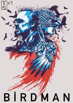 Birdman #alternative #movie #posters #art