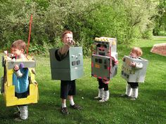 Love this #robot #party idea! I wonder how much dryer venting costs???