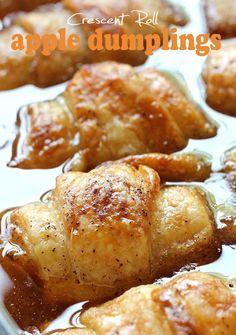 Crescent Roll Apple Dumplings | The WHOot