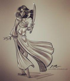 Talia Sketch by em-scribbles on DeviantArt