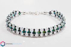 Turquoise Bracelet, Beaded Bracelets, Crystals, Jewelry, Fashion, Moda, Jewlery, Jewerly, Fashion Styles