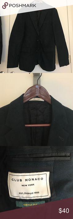 Club Monaco Man's blazer 80% new dark navy Club Monaco Suits & Blazers Sport Coats & Blazers