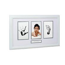 Baby hand and foot prints frame