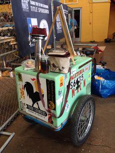 Paleta beer cart at Four Corners Brewery in Dallas,Tx