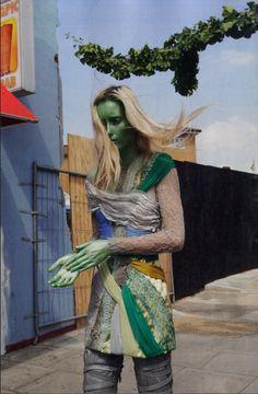Iekeliene Stange by Vivian Sassen Dazed & Confused 2009