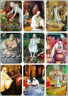 Om.Sai Ram Shirdi Sai Baba Wallpapers, Sai Baba Hd Wallpaper, Sai Baba Quotes, Sathya Sai Baba, Baba Image, Om Sai Ram, Goddess Lakshmi, God Pictures, God Loves Me