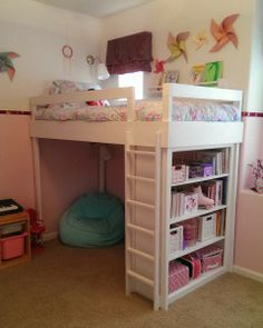 Lovely Neighbors Blog - DIY Loft Bed