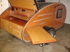 old teardrop trailers | ... Trailers • View topic - Saw 2bit's old teardrop trailer in Wa