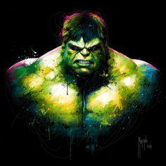 pop art Hulk