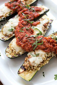 Cheesy Italian Zucchini Boats / by The Cozy Apron