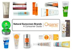 This guide is for conscious consumers looking for effective and healthy natural sunscreen products. We cover sunscreens for babies, face, sport and body.