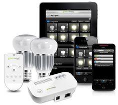 Greenwave Wi-Fi Controlled LED Light Bulbs.