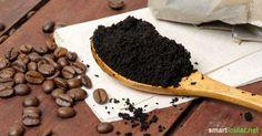 Kaffeesatz bitte nicht wegwerfen - dafür ist er viel zu schade, denn Kaffeesatz lässt sich für zahlreiche nützliche Anwendungen wiederverwenden!