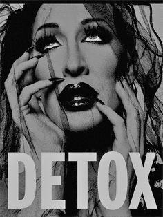Image of Autographed Detox SILVER Silk-Screen Poster (Limited Edition)