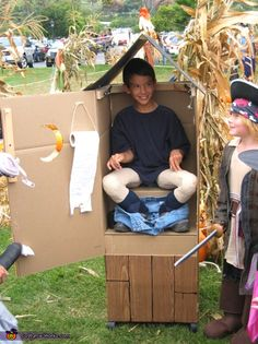 Porta Potty - Homemade costumes for boys