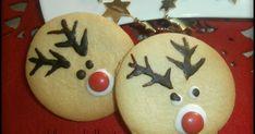 ΜΠΙΣΚΟΤΑ   ΒΟΥΤΥΡΟΥ ΡΟΥΝΤΟΛΦ Christmas Cake Pops, Christmas Cookies, Christmas Bulbs, Soul Food, Macarons, Food And Drink, Sweets, Baking, Holiday Decor