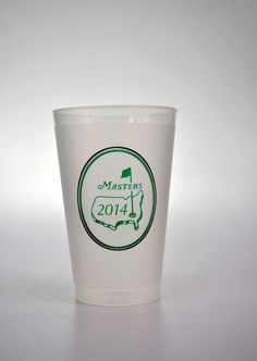 10c1a0358c 2014 Masters Golf Augusta National Frosted Plastic Drink Cups Collectible  Bubba #BerryPlastics 2014 Masters,