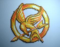 Hunger Games Mockingjay - Perler Beads by Nestly on deviantART