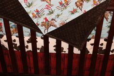Barn Dandy Cowboy Rodeo and Minky Blanket by DesignsbyChristyS on Etsy