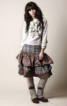 boho skirt and top by Ewa i Walla