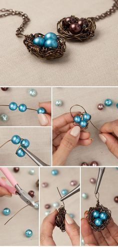 Bird's Nest Charm | DIY Necklaces | Maker Crate #DIY # Necklace #jewelrynecklaces