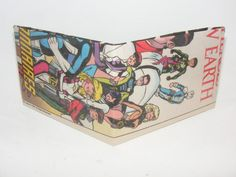 Comic Book Wallet// Legion of Super-Heroes, $3.50