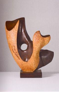 """Mario Dal Fabbro """"Curved Shape"""" 1985"""