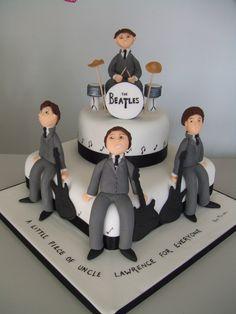 Beatles Cake