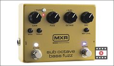 MXR M287 Sub Octave Bass Fuzz Review https://link.crwd.fr/3BY5