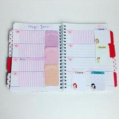 Lista para organizar mi semana. Como me gusta esto de decorar la agenda. #cute #photooftheday #picoftheday #handmadewithlove #happy #agenda #fun #crafty