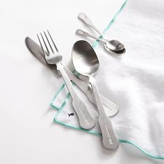 Mallorca 3-Piece Flatware Place Setting | Crate and Barrel
