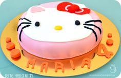 Hello Kitty cake... easy to make it!